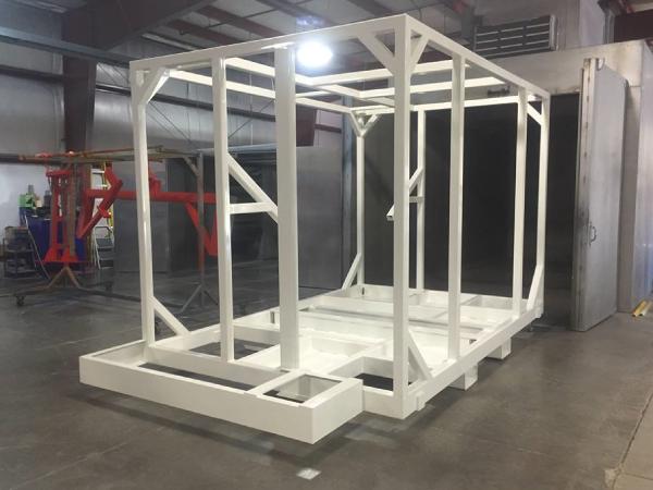 Large white rack