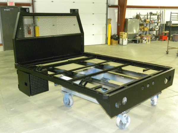 Powder Coated Truck bed