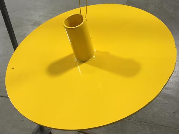Yellow plate